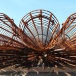 Baustahlbewehrung eines Bohrpfahls
