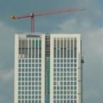 Baustelle in Frankfurt
