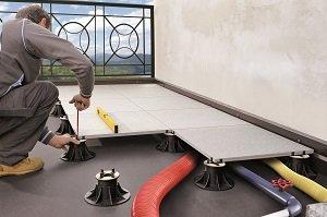 PEDESTAL: supporti per pavimenti sopraelevati da esterno