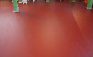 Ucrete, il pavimento più resistente per un'applicazione davvero dolce.
