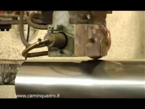 CAMIN QUADRO: il concetto di canna fumaria.
