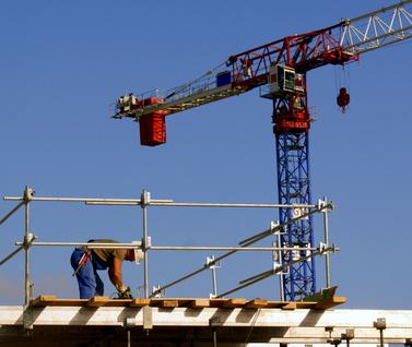 GESTIONE CANTIERE E SICUREZZA: nelle opere in quota è fondamentale la sicurezza del cantiere.