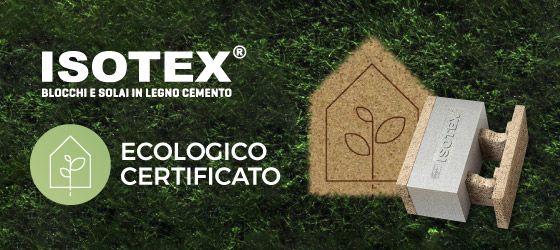 SISTEMA COSTRUTTIVO IN LEGNO CEMENTO ISOTEX – Materiali naturali e architettura sostenibile.