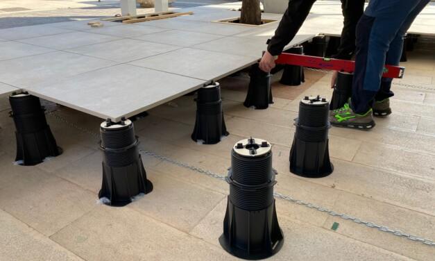 PRIMA REALIZZAZIONE con il prodotto novità di quest'anno: Pedestal PRIME®